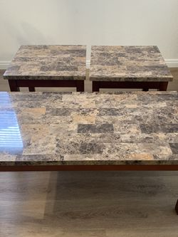 3 Piece matching Coffee And End Tables for Sale in Henderson,  NV
