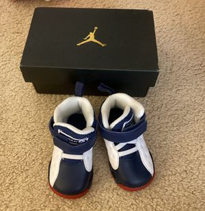 BRAND NEW IN BOX! UNISEX BABY AIR JORDANS (Size 4) for Sale in San Diego, CA