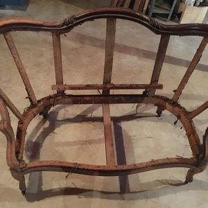 Wood Loveseat Frame for Sale in Guilford, CT