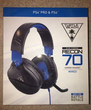 Turtle Beach Gaming Headset Headphones PS4 for Sale in Killeen, TX