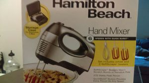 Hamilton beach hand mixer 6 speed for Sale in Columbus, OH