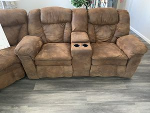 Brown Reclining Couch for Sale in Corona, CA