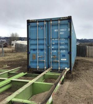 Used Containers- 40' High Cube WWT Portable Connex Units for Sale in Saginaw, MI