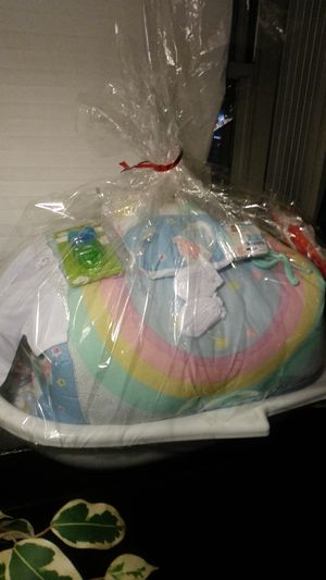 I have a baby basket. good for a baby shower for Sale in Chicago, IL