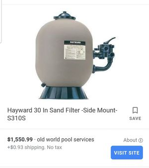 New Hayward S310S sand filter for Sale in Austin, TX