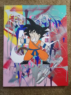 Dragon Ball Z Kid Goku and Nike Jordans for Sale in Los Angeles, CA