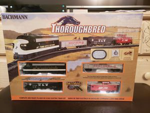 *NEW IN BOX* $125 OBO! BACHMANN THOROUGHBRED ELECTRIC TRAIN, STILL IN THE SHRINK WRAP. for Sale in Cuyahoga Falls, OH