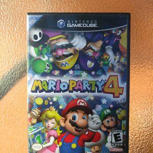 Mario Party 4 (Nintendo GameCube) for Sale in Stonecrest, GA