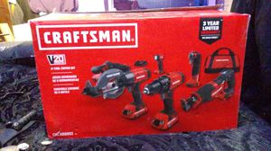 CRAFTSMAN 20V - 6 tool Combo kit for Sale in Vidor, TX