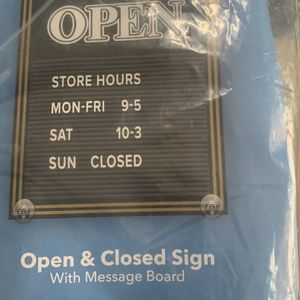 Open/ Close Business Sign for Sale in Largo, FL