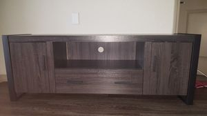 Modern TV Stand/Entertainment Unit w/storage for Sale in Zephyrhills, FL