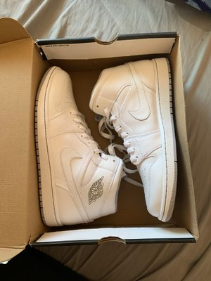 Air Jordan 1 Mid size 12.5 for Sale in Kent, WA