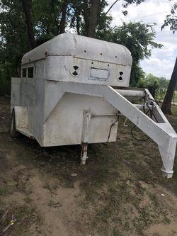 2 horse Gooseneck trailer for Sale in Dallas,  TX