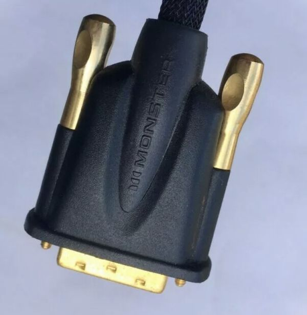 Monster DVI-to-DVI Gold Plated Cable
