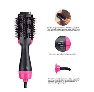 Hair Dryer Brush, One-step Hair Dryer and Volumizer Blower Brush for Dry & Straighten & Curling, Hot Air Styling Brush, Smooth Frizz with Negative Io for Sale in Rancho Cucamonga, CA