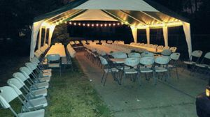 20x20 tent, carpa for Sale in Oak Lawn, IL
