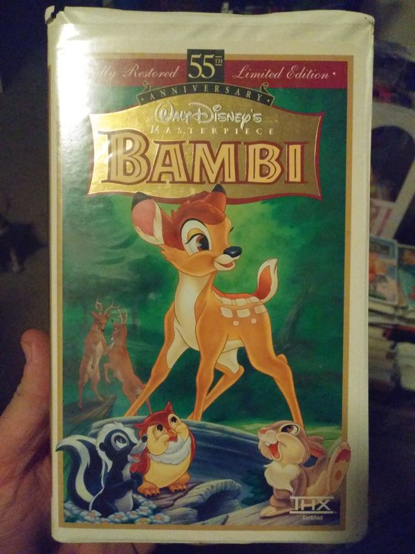 Bambi fully restored 55th yr limited edition