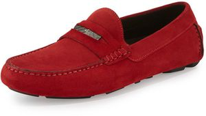 Burberry Silverstone Suede Penny Driver Shoes for Sale in Pittsburgh, PA