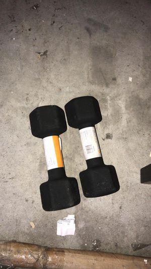 CAP Barbell Black Neoprene Dumbbell , Single 12 lbs Set of 2 for Sale in Houston, TX