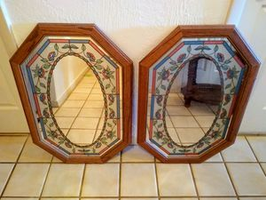 Two Wall Mirrors for Sale in PT ORANGE, FL