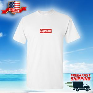 Supreme Box Logo White T-Shirt - Custom made - SAME DAY SHIPPING for Sale in SUNNY ISL BCH, FL