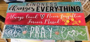 Signs - home decor for Sale in Methuen, MA