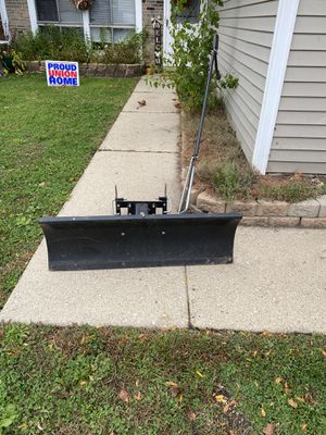 Craftsman snow plow for Sale in Elgin, IL