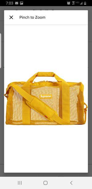 Supreme big duffel bag for Sale in Lynwood, CA
