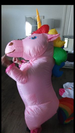 Unicorn blow up costume for Sale in Victorville, CA