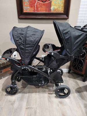 Sit & Stand double stroller for Sale in Mesquite, TX