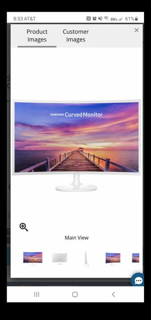 32 inch curved Samsung monitor for Sale in Buena Park, CA