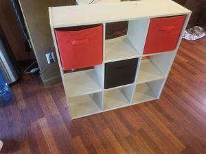 Storage livingroom shelves for Sale in Everett, WA