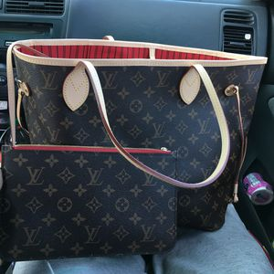 Louis Vuitton Neverfull MM Bag&Wallet for Sale in Concord, CA