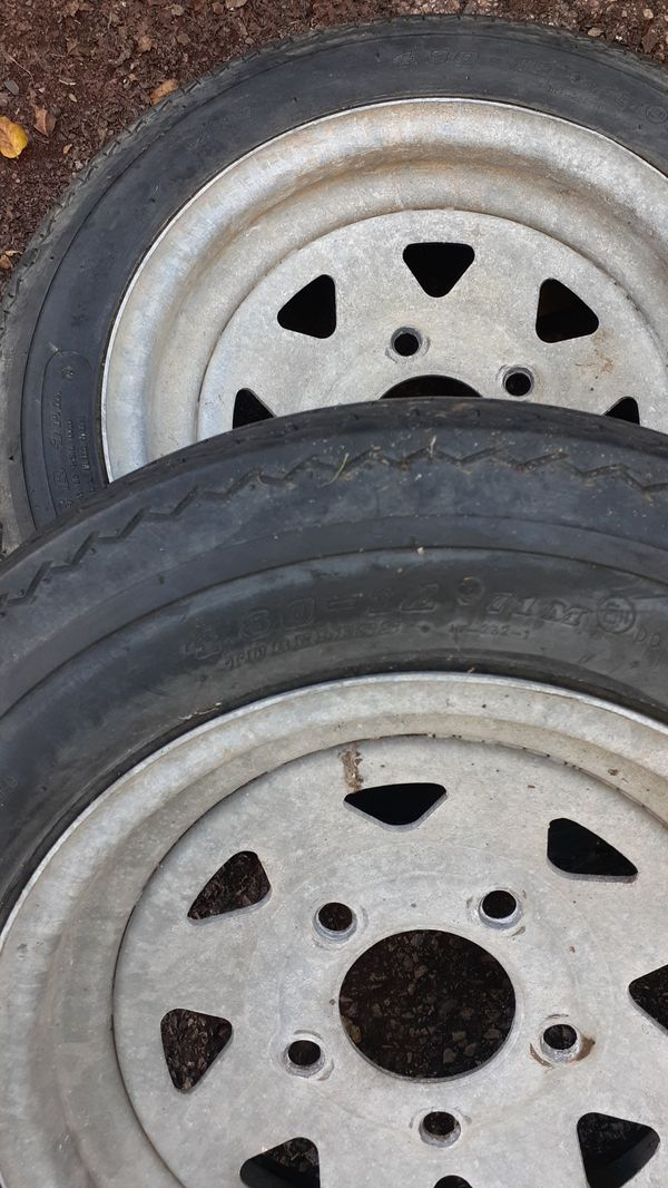 Trailer tires used