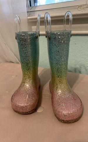 Cat & Jack rain boots Size 5 for Sale in Duncanville, TX