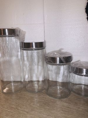 Walmart glass storage container set for Sale in Belmont, CA