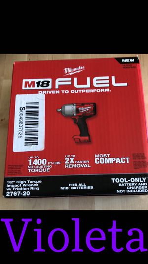 Milwaukee impact wrench for Sale in Compton, CA