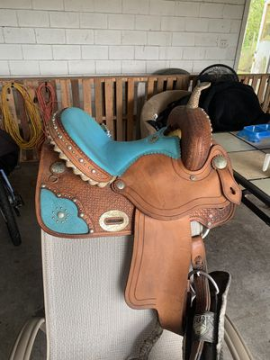 Limited Edition Alamo Barrel Saddle for Sale in Reunion, FL