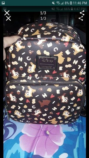 Disney Chip & Dale Loungefly Mini Backpack for Sale in Fresno, CA