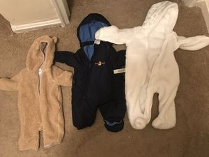 Baby Clothes, Baby Tub, Bassinet, Diaper Bags, Size 4 Diapers, Bottles, Baby Food, Rice Cereal, Bouncing Chair Also Sings And Vibrate, Baby Snow Suits for Sale in Washington, DC