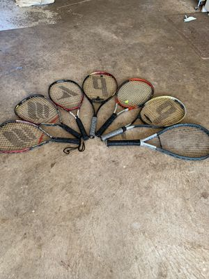 Tennis and racket ball rackets for Sale in Fairfax, VA