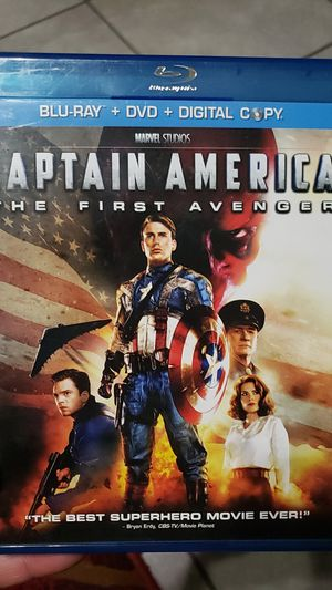Marvel Movie Captain America for Sale in Los Angeles, CA