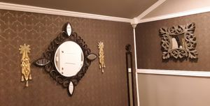 3 Mirrors and 2 Wall Sconces for Sale in Tulsa, OK