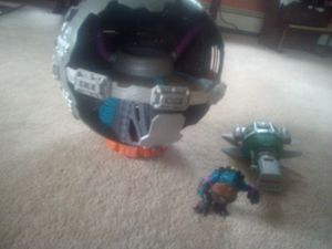 TMNT slash,techrodome and stealth underwater turtle sub for Sale in Irving, NY