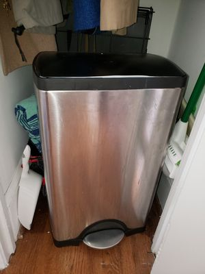 Stainless Steel Kitchen Trash Can - Simplehuman for Sale in Washington, DC