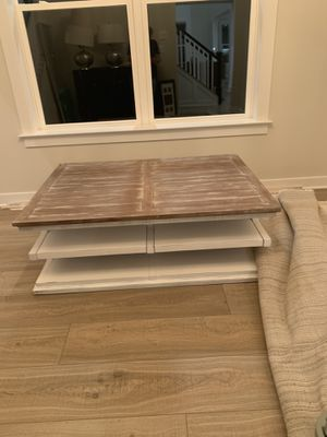 Solid wood coffee table for Sale in Frederick, MD