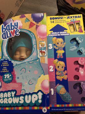 Baby alive grow up for Sale in Bridgeport, CT