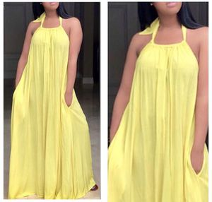Yellow Halter Maxi Dress for Sale in Forest Heights, MD