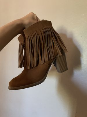 Fringed booties for Sale in Fontana, CA