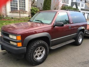 1999 2dr Chevy Tahoe/ blazer for Sale in Tualatin, OR